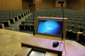 ANS Tech's innovative smart podium and control systems